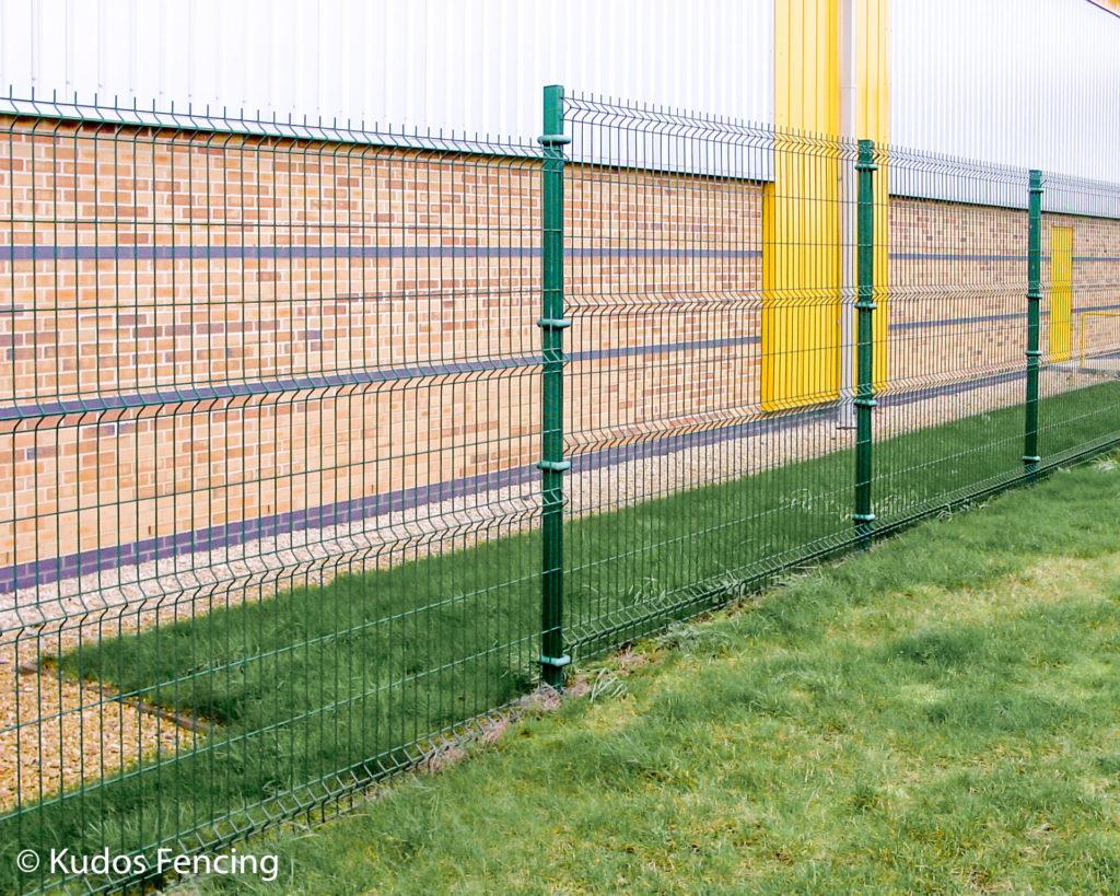 V Mesh Weld Mesh Security Fencing