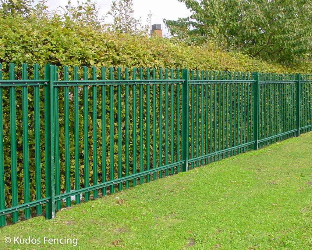 Steel Palisade Security Fencing