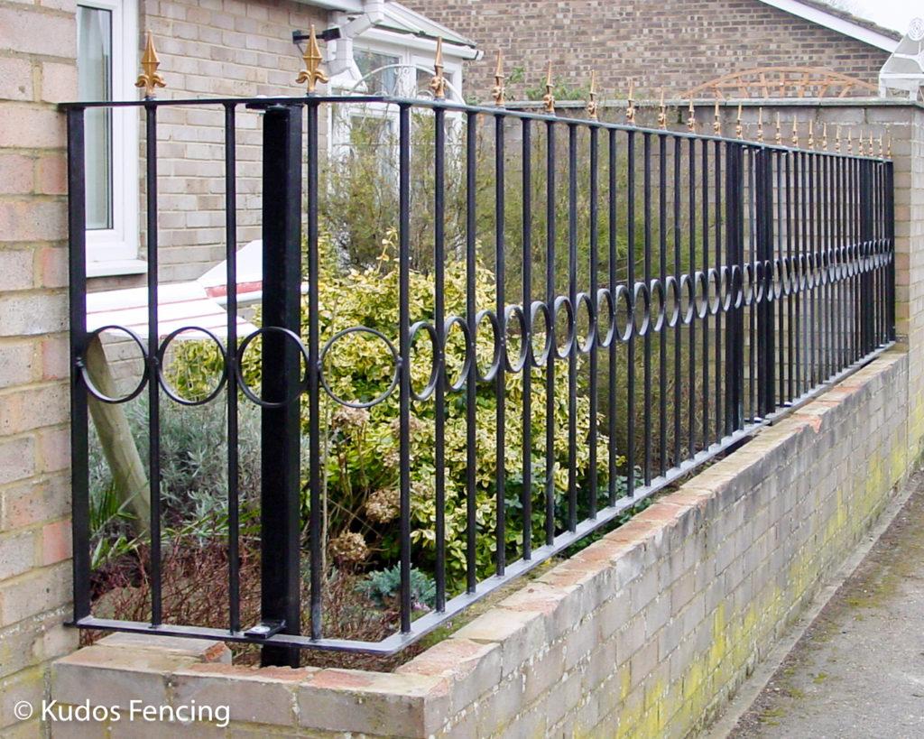 Metal Railing Installation Enquiries | Kudos Fencing Ltd