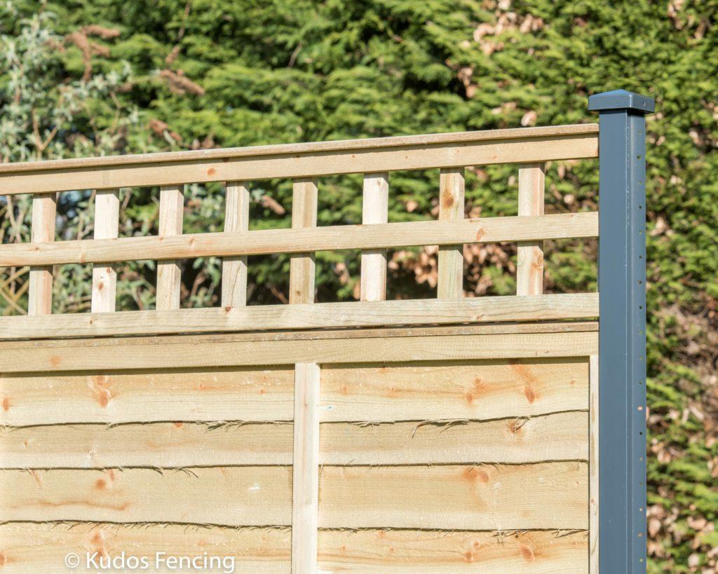 Trellis Top Kudos Panel Fencing